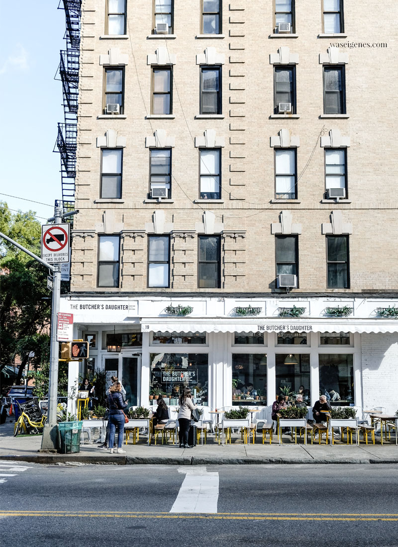 "New York: The Butcher's Daughter - plant-based restaurant, cafe, juice bar and ""vegetable slaughterhouse."" 