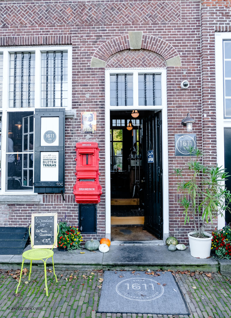Holland - Niederlande: Veere, hübsches Dörfchen mit historischem Stadtkern in der Provinz Zeeland, Restaurant 1611, Hotel de Heeren, waseigenes.com