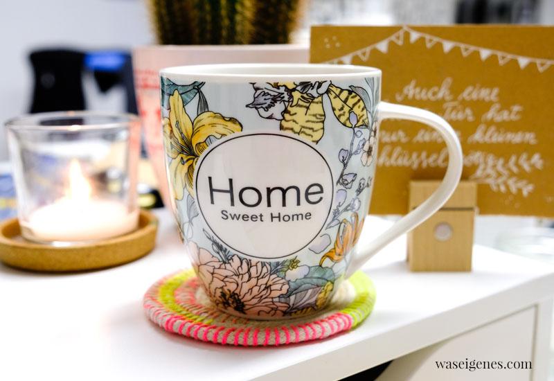 12 von 12 im November 2019 | Mein Tag in Bildern | waseigenes.com | Kaffeetassen Home sweet Home