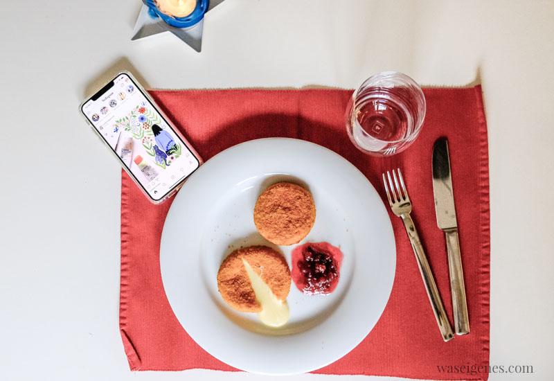 12 von 12 im November 2019 | Mein Tag in Bildern | waseigenes.com | Mittagessen Camembert