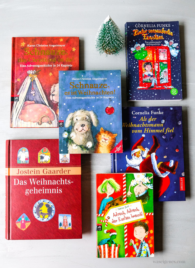 6 Buchtipps für Kinder: Adventskalenderbücher für die Vorweihnachtszeit | waseigenes.com