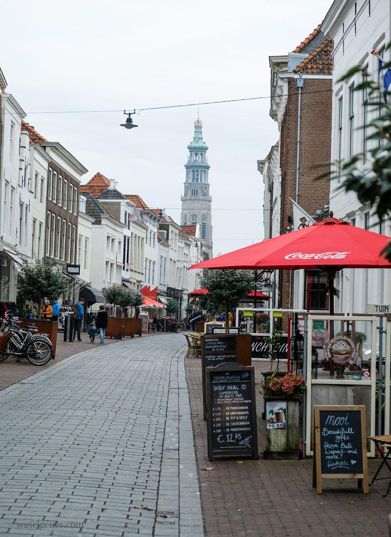 Travel Holland (Niederlande): Middelburg - Zeeland, Einkaufsstraße, waseigenes.com