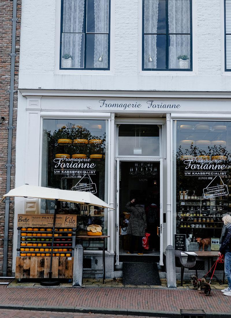 Travel Holland (Niederlande): Middelburg - Zeeland, Fromagerie Forianne, waseigenes.com