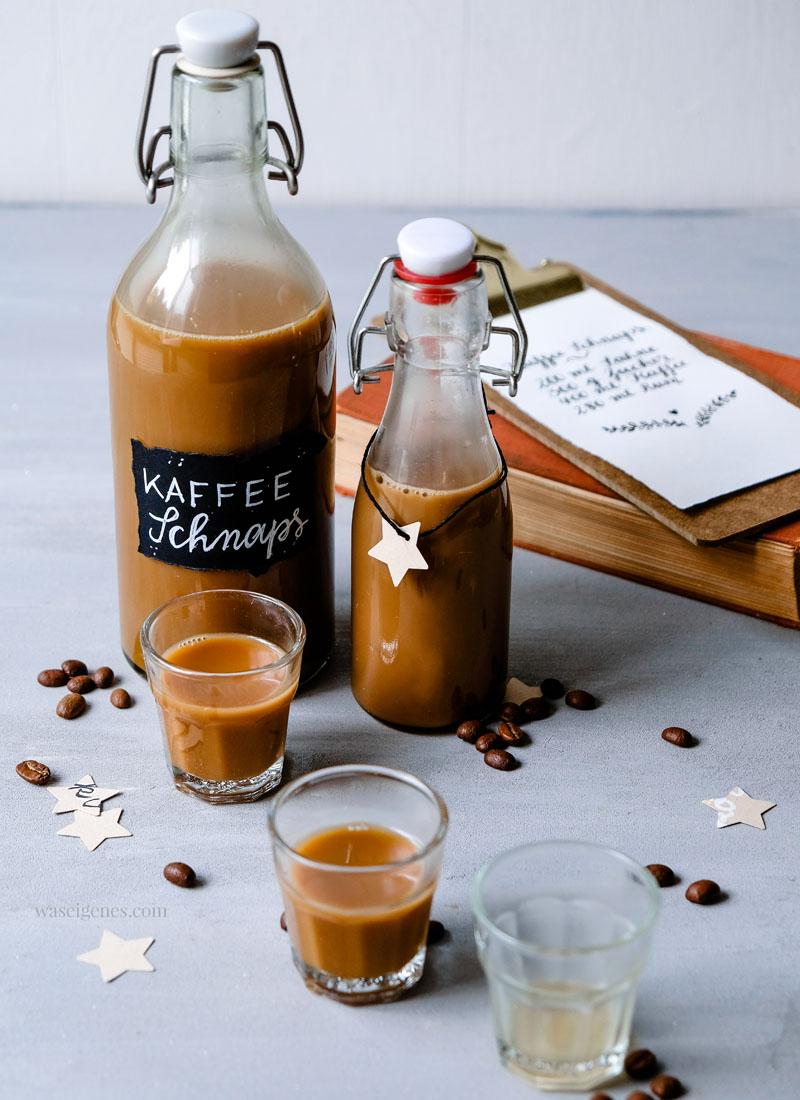 Rezept: Kaffee Schnaps oder Kaffee Likör | Thermomix Rezept | waseigenes.com