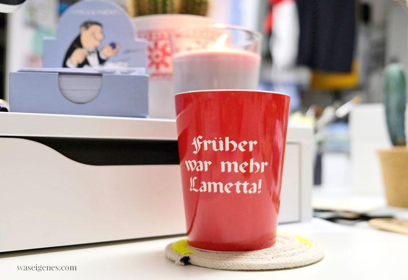 12 von 12 im Dezember 2019 ~ Mein Tag in Bildern, waseigenes.com, Tasse Früher war mehr Lametta