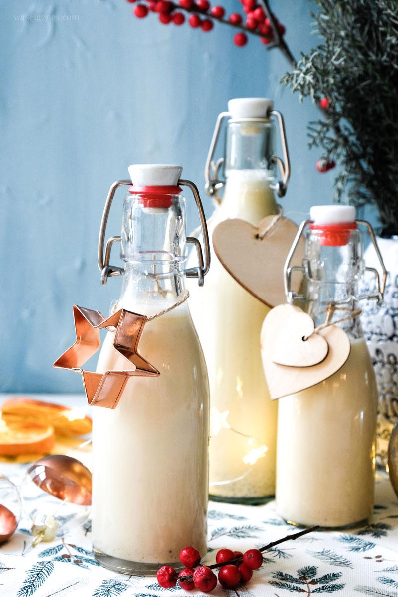 Geschenk aus der Küche: Rezept: Vanillekipferl Likör | Thermomix Rezept, waseigenes.com