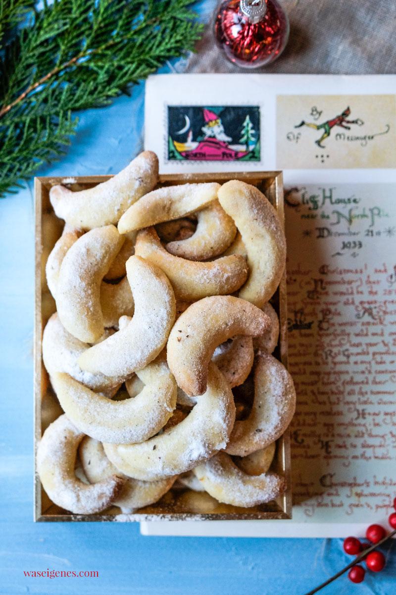 Weihnachtsplätzchen Rezept: Vanillekipferl | waseigenes.com