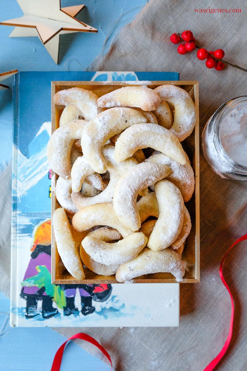 Die dürfen auf dem Plätzchenteller nicht fehlen: Weihnachtsplätzchen Rezept für Vanillekipferl | waseigenes.com
