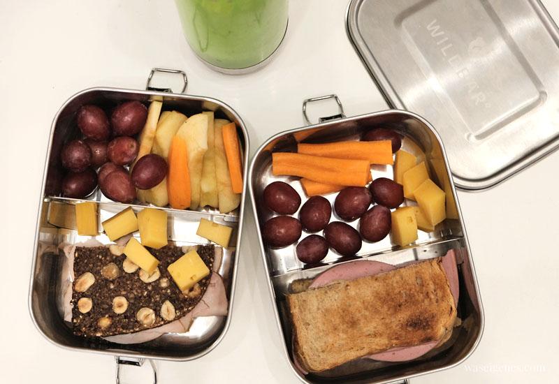 12 von 12 im Februar 2020 | Mein Tag in Bildern | waseigenes.com | Brotdosen, Schulfrühstück