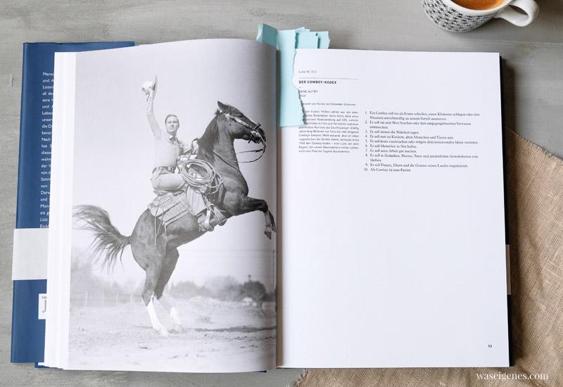 Buchempfehlung: Lists of Note. Interessante und inspirierende Listen berühmter Menschen | Der Cowboy Kodex | waseigenes.com