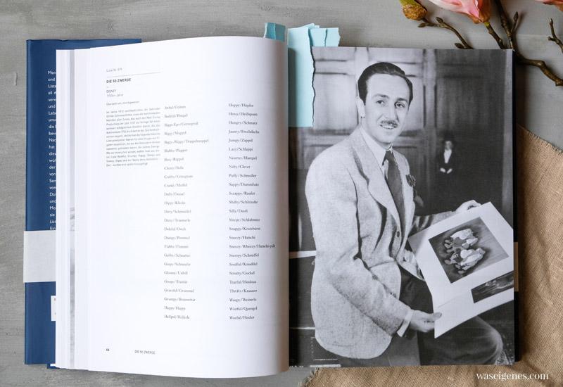 Buchempfehlung: Lists of Note. Interessante und inspirierende Listen berühmter Menschen | Potenzielle Namen der sieben Zwerge von Walt Disney | waseigenes.com