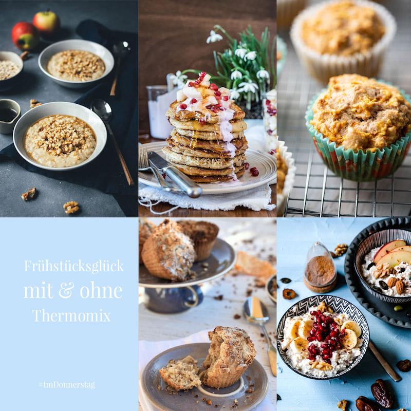 Frühstücksglück - Gesundes Frühstück aus dem Thermomix | Fünf leckere Ideen rund ums Frühstück - Bircher Müsli | waseigenes.com