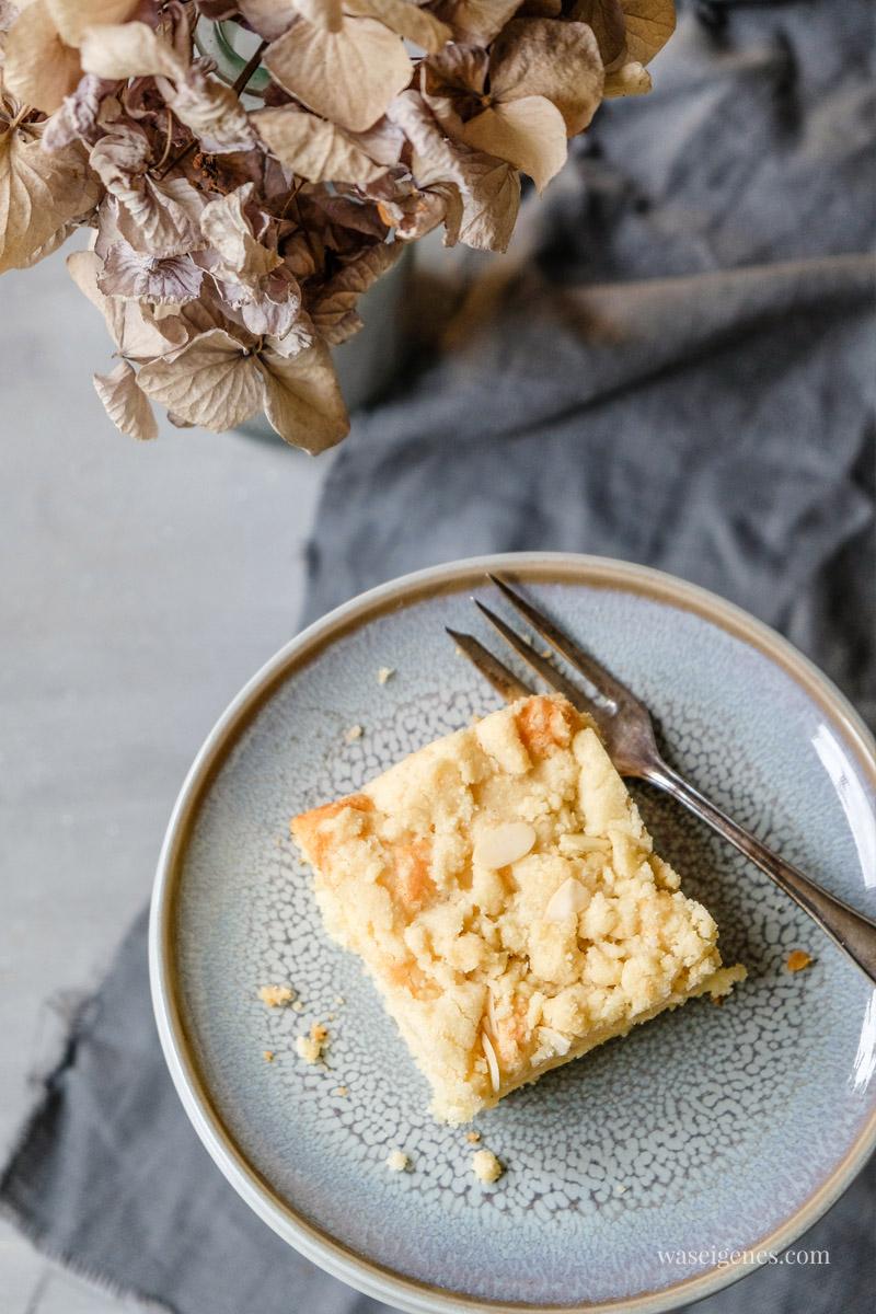 Rezept: Einfach leckerer Streuselkuchen mit Mandelstreusel | waseigenes.com
