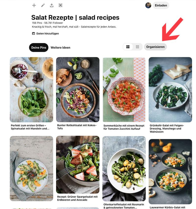 Salat Rezepte von deutschen Bloggerinnen und Bloggern, waseigenes.com