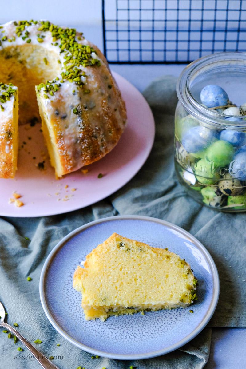 Rezept: Saftig, luftiger Rührkuchen mit Eierlikör | Eierlikör Gugelhupf, waseigenes.com