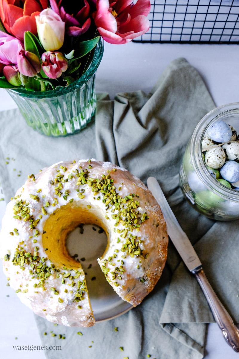 Rezept: Saftig, luftiger Rührkuchen mit Eierlikör | Eierlikör Guglhupf, waseigenes.com