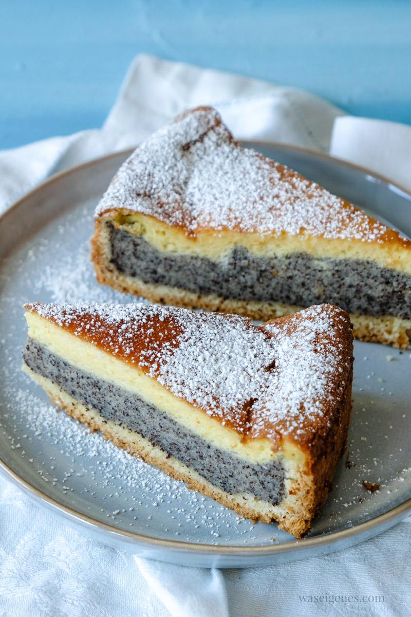 Rezept: Mohnkuchen mit Vanillepudding, waseigenes.com