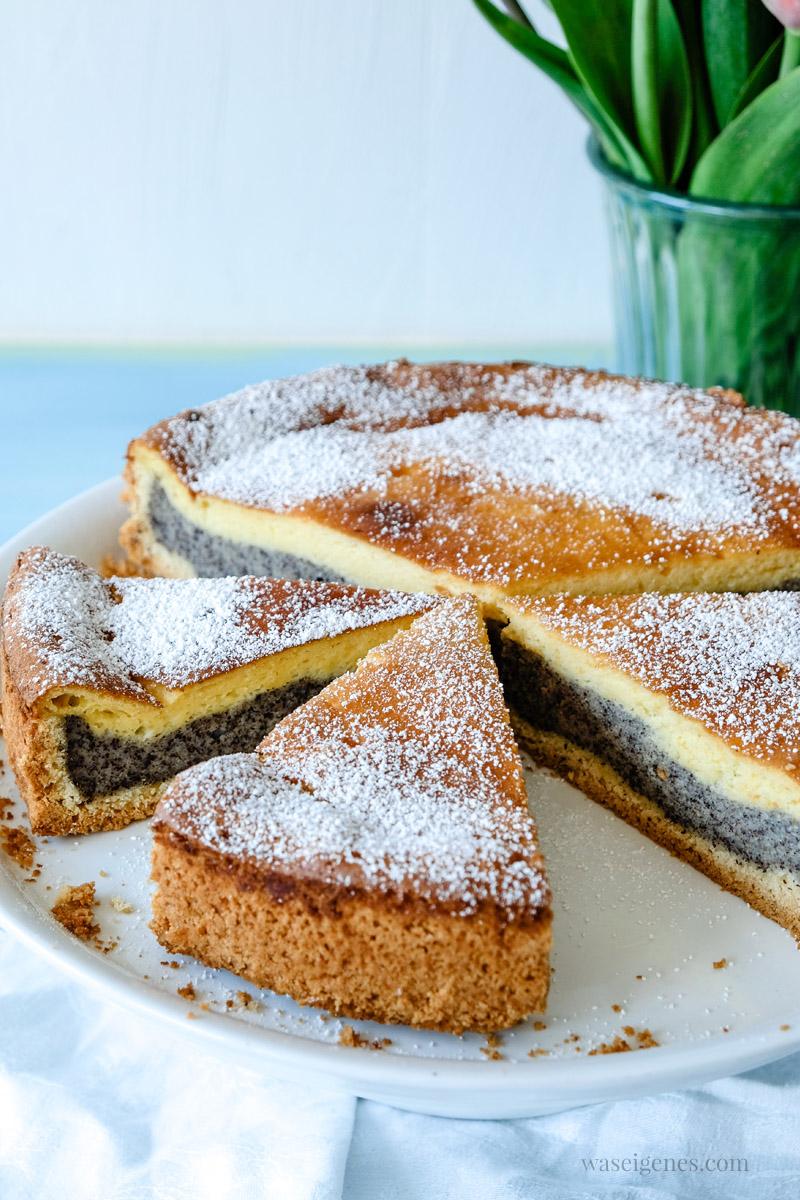 Rezept: Saftiger Mohnkuchen mit Vanillepudding, waseigenes.com