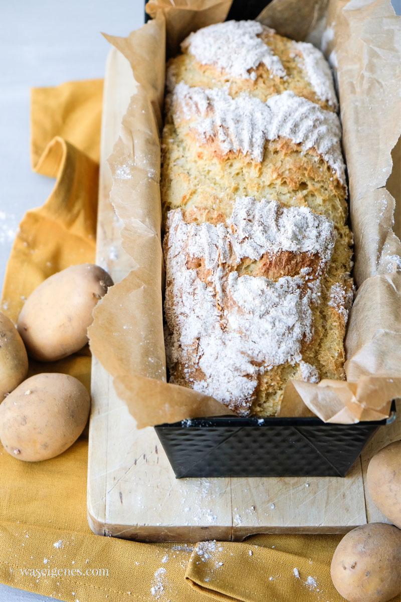 Brot selber backen: Rezept für ein leckeres Kartoffelbrot | waseigenes.com