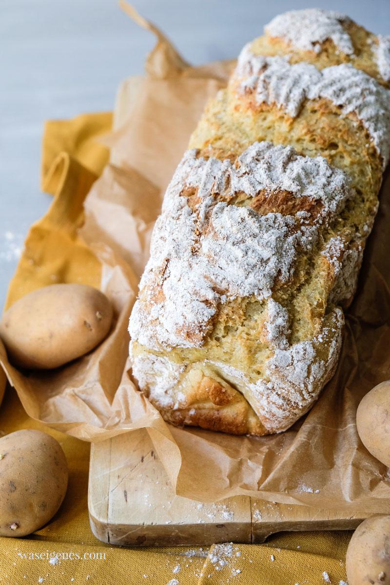 Saftig & fluffig: selbst gemachtes Kartoffelbrot, waseigenes.com