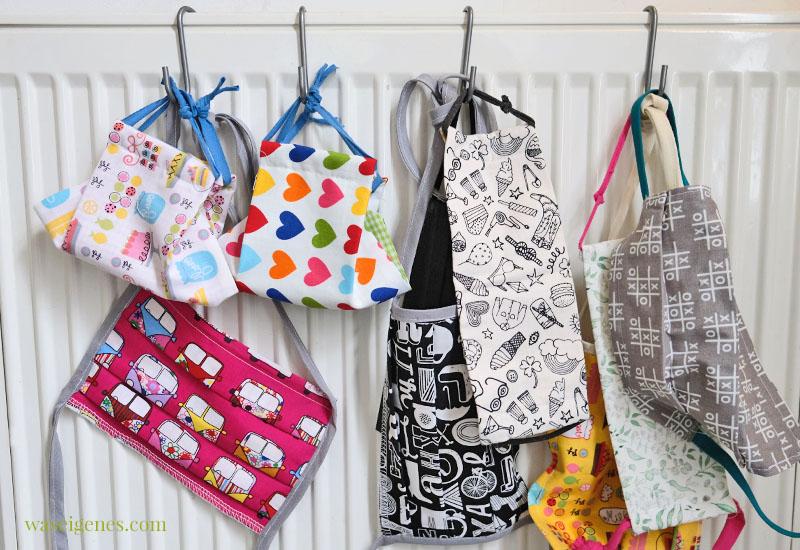 12 von 12 im Mai 2020, Mein Tag in Bildern | waseigenes.com #we #12von12 #waseigenes #tagesreportage - selbst genähte Community Masken