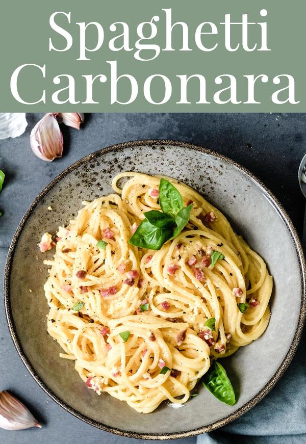 Was koche ich heute? Spaghetti Carbonara | waseigenes.com