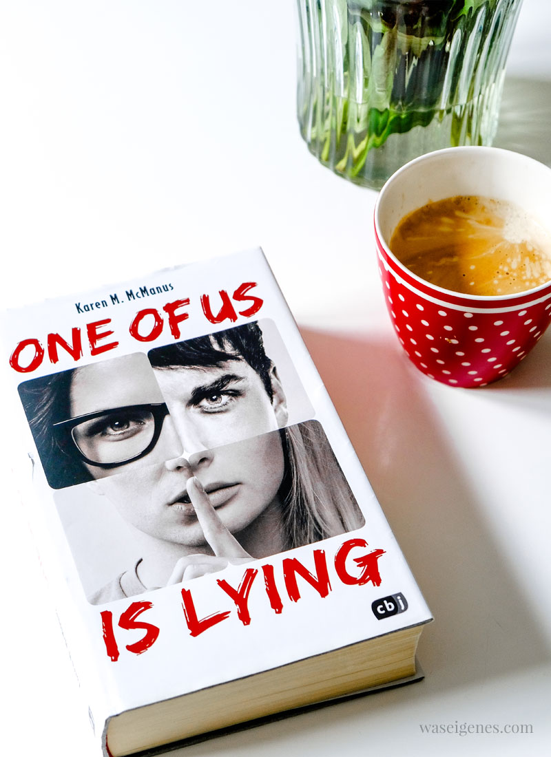 Buchtipp One of us is lying, waseigenes.com