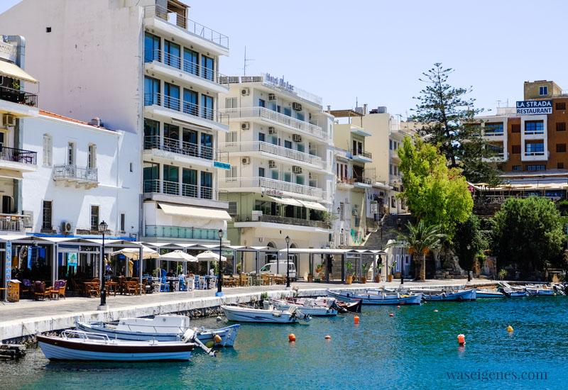 Kreta (Griechenland) Voulismeni-See in Agios Nikolaos, waseigenes.com