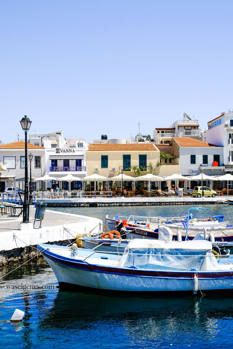 Kreta: Voulismeni-See in Agios Nikolaos, waseigenes.com