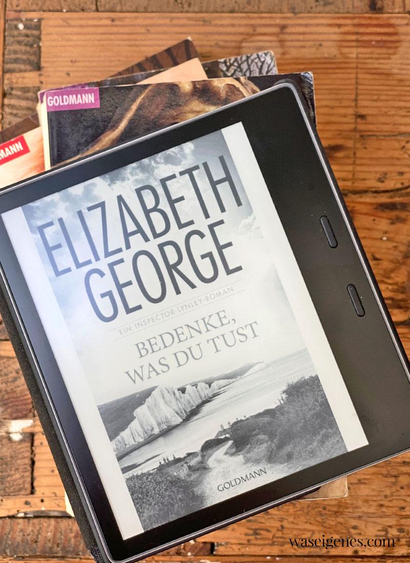Buchtipp: Bedenke, was du tust - Band Nr. 19 der Krimi Reihe von Elisabeth George | waseigenes.com