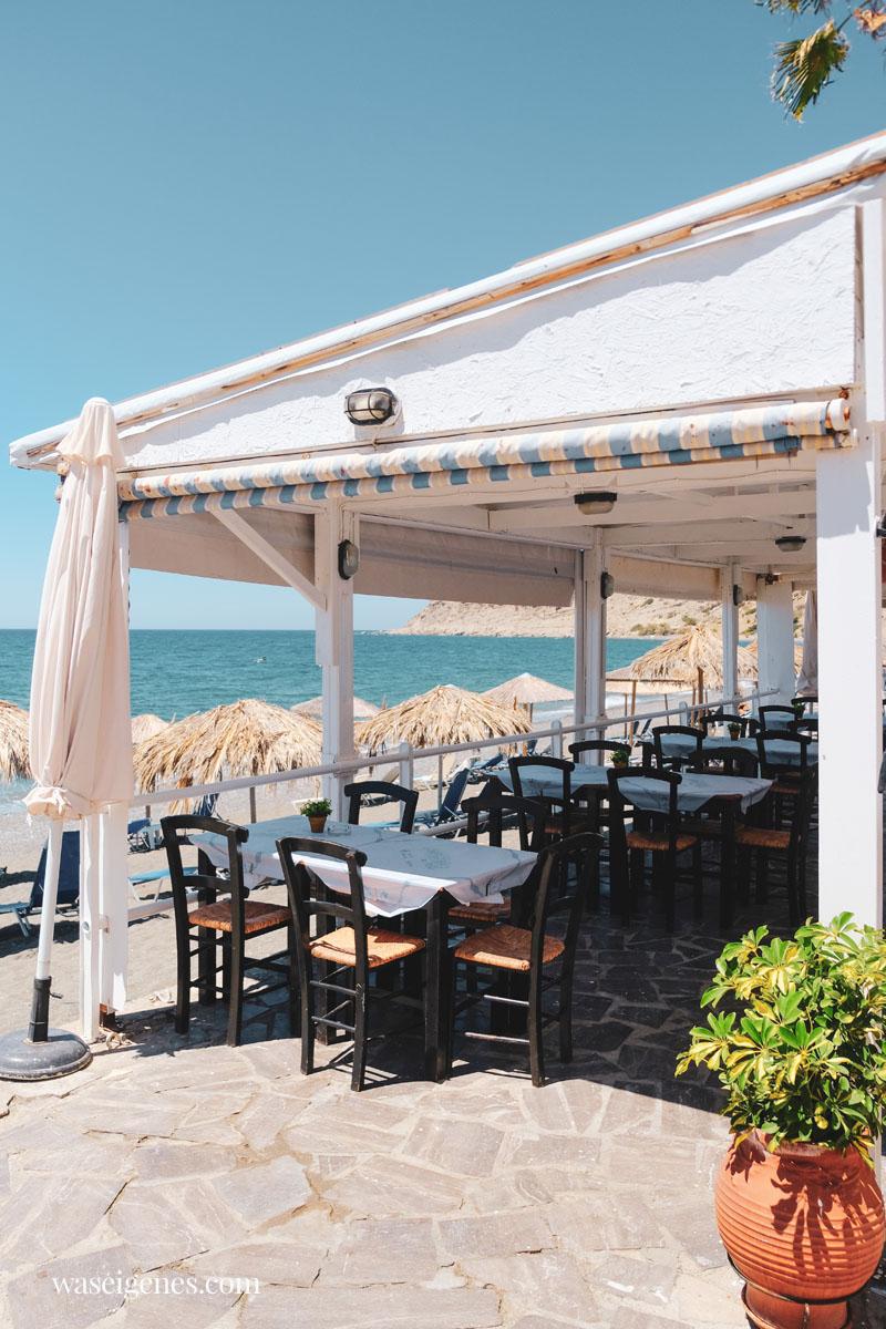 Mirtos {Myrtos} ist ein kleines Dorf im Süden Kretas, in der Nähe von Irapetra | waseigenes.com