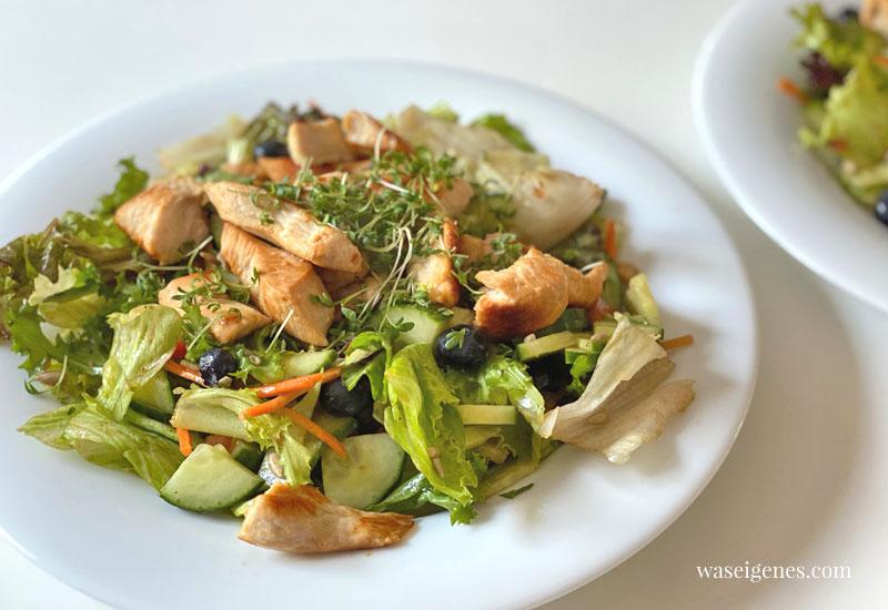 12 von 12 im September 2020 | Mein Tag in Bildern | waseigenes.com - Mittagessen Salat