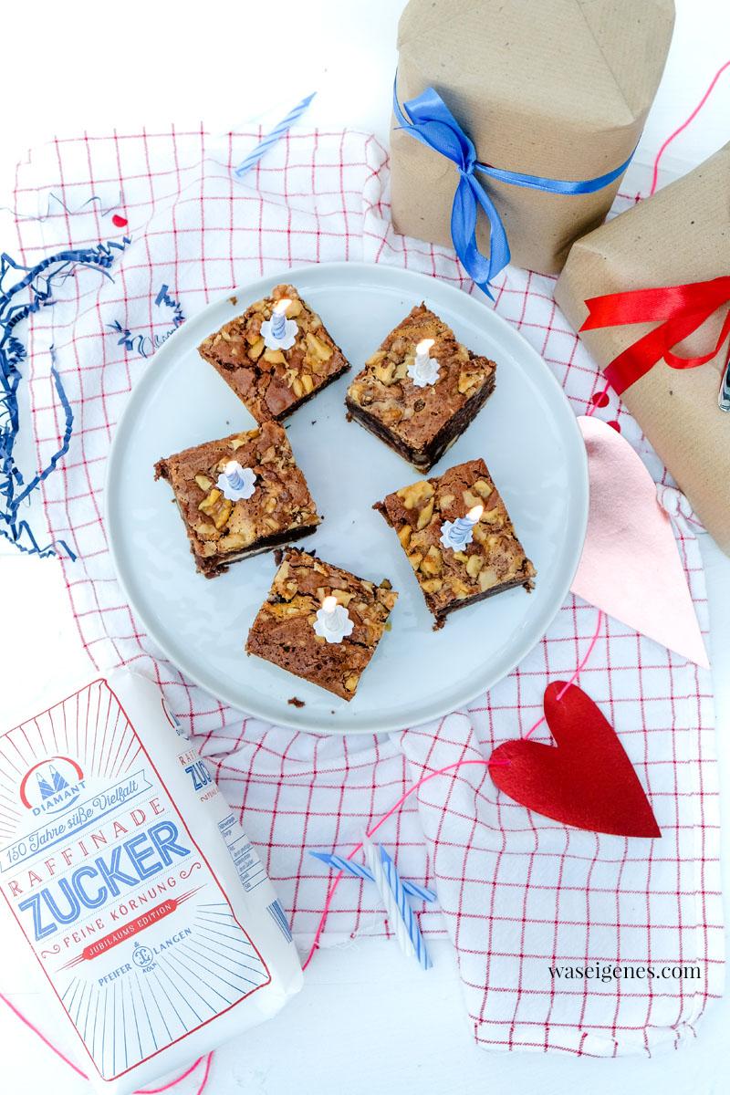 Rezept Cheesecake Brownies - Happy Birthday Pfeifer & Langen zum 150. Geburtstag | waseigenes.com