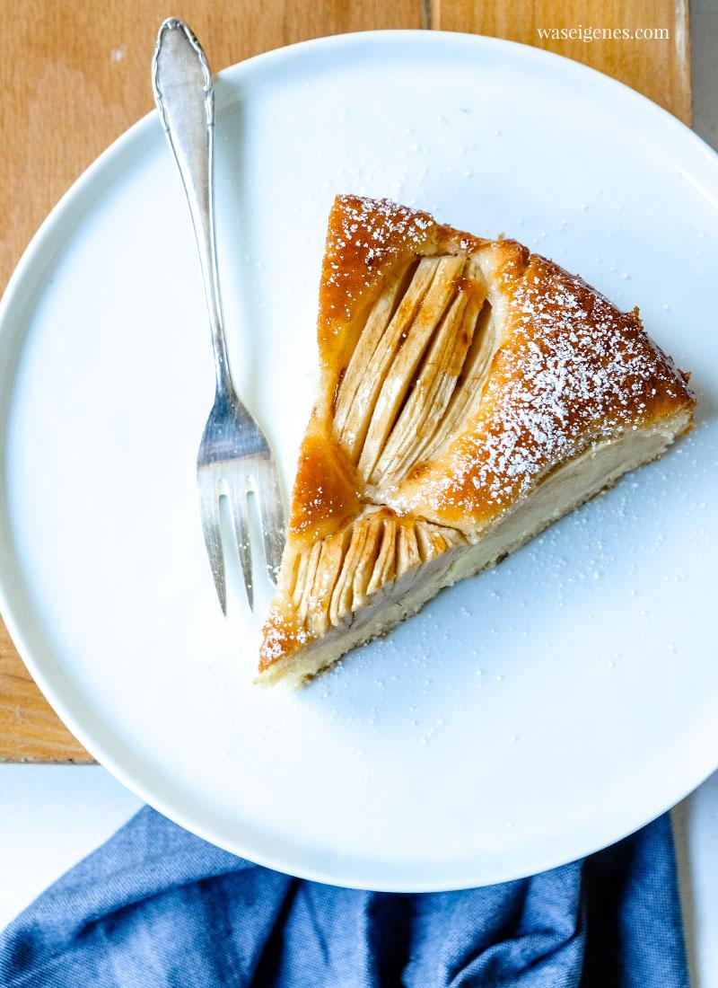 Rezept: Versunkener Apfelkuchen | Einfacher und schneller Apfelkuchen | waseigenes.com