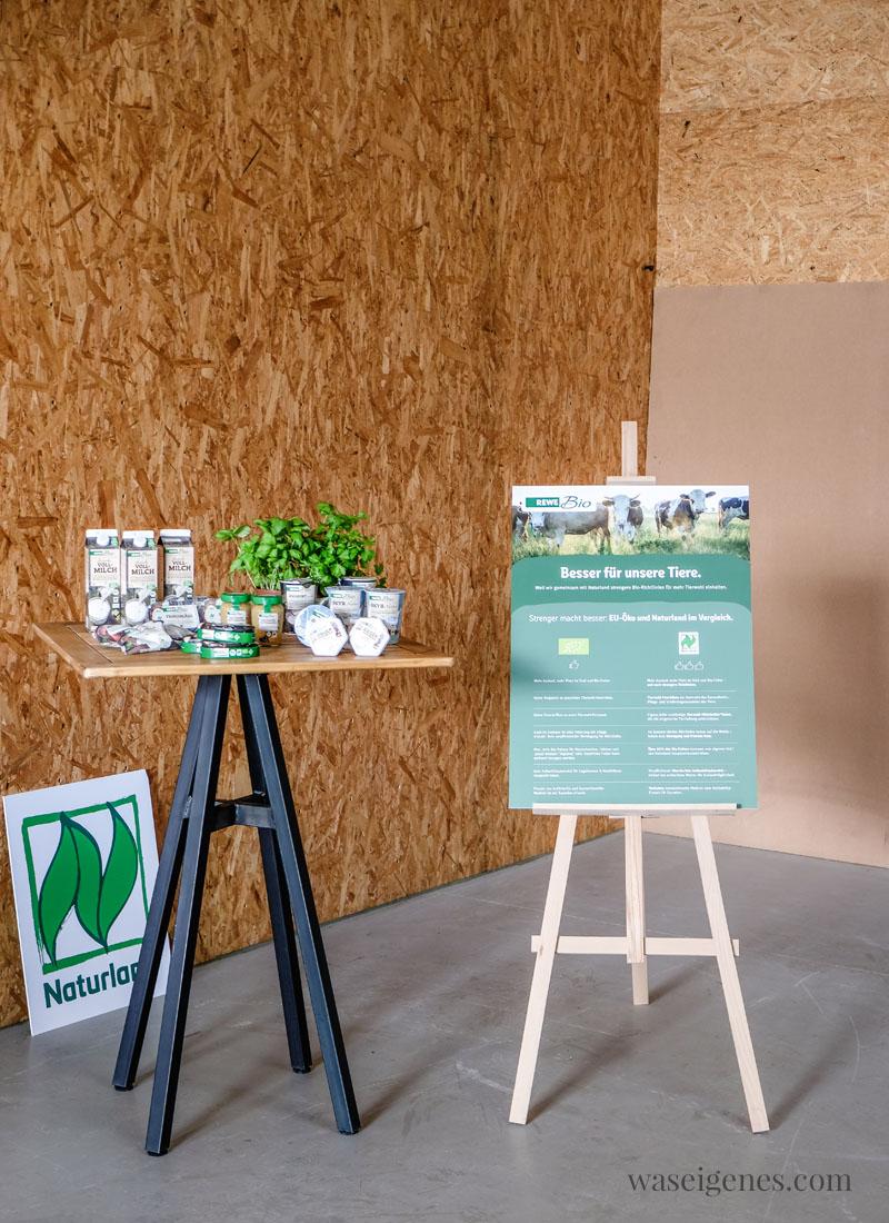 REWE Bio Sortiment - 300 Naturland zertifizierte Lebensmittel ohne chemisch-synthetische Pestizide, Gentechnik, Aromen und Hefeextrakten | waseigenes.com