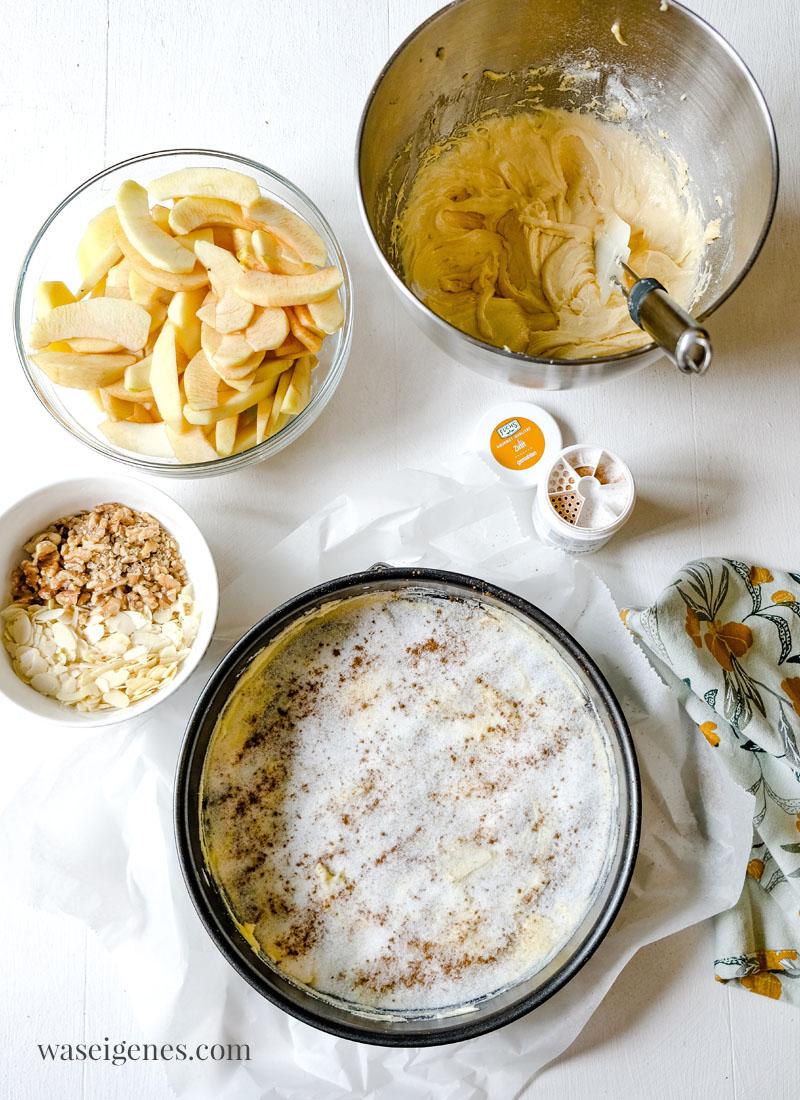 Rezept: Apfelkuchen kopfüber gebacken - Schritt für Schritt Anleitung. Was backe ich heute? waseigenes.com