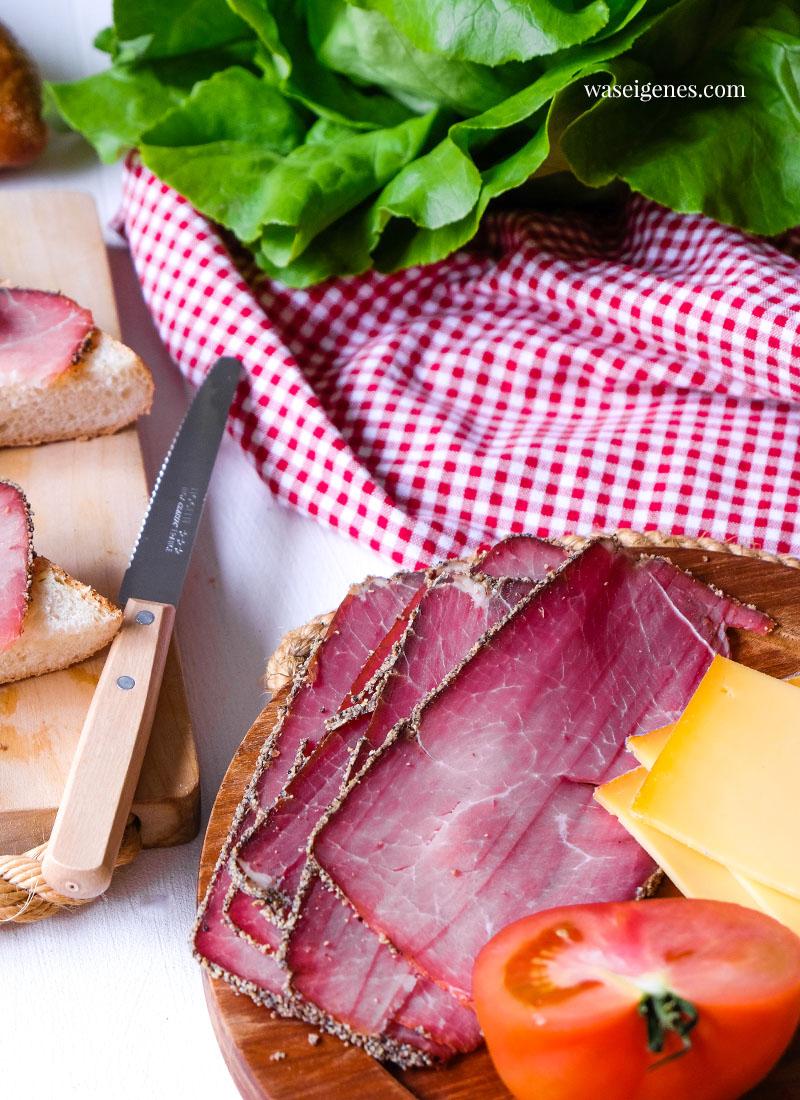 Virgina Pfefferschinken - würzig, aromatisch, fett- und kalorienarm | waseigenes.com | Bines Croque Rezept