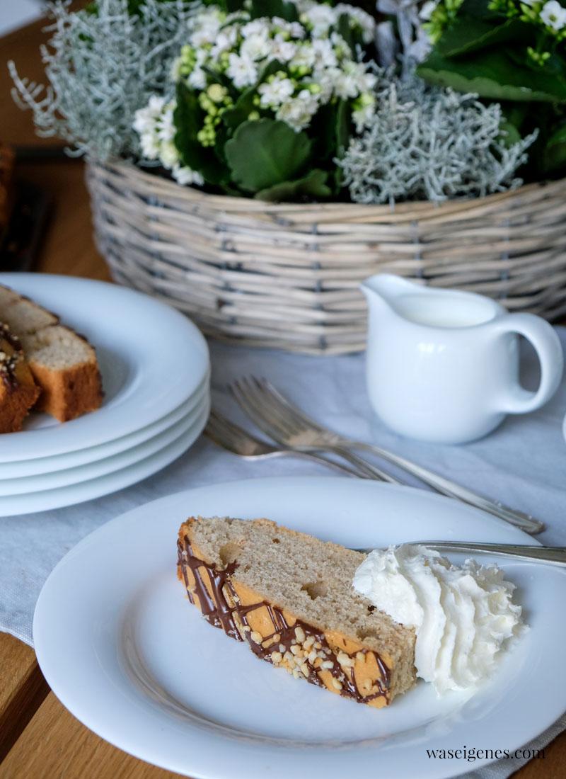 Rezept: Zimtkuchen mit Schokolade und Krokant | waseigenes.com