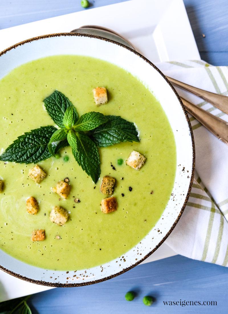Rezept: Feine Erbsensuppe mit Kokosmilch | Was koche ich heute? Fix auf dem Tisch | Rezepte für jeden Tag | Rezepte für die Familie | waseigenes.com