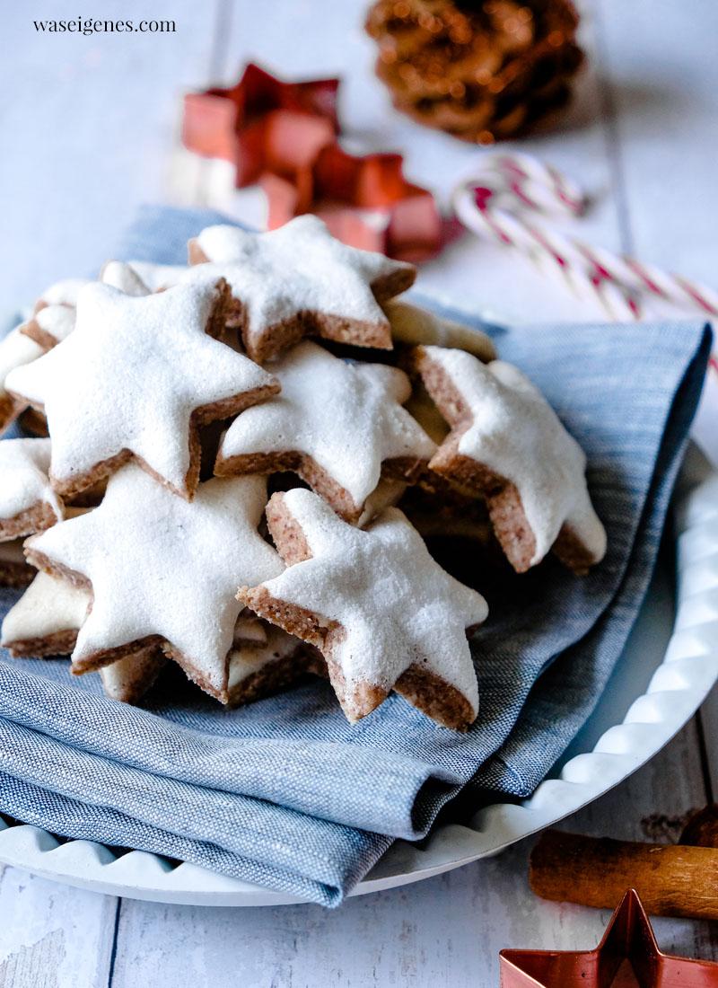 Rezept Weihnachtsplätzchen: Zimtsterne | waseigenes.com