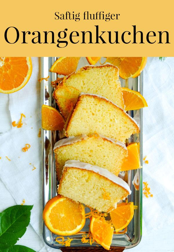Rezept saftig fluffiger Orangenkuchen, waseigenes.com