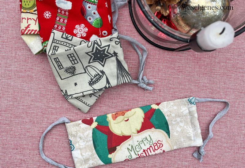 12 von 12 im Dezember 2020 | Mein Tag in Bildern | waseigenes.com | Weihnachtsmasken