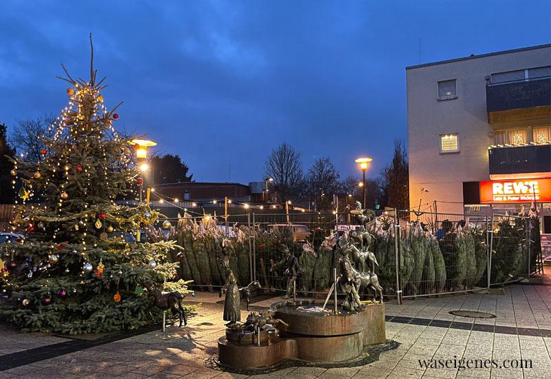 12 von 12 im Dezember 2020 | Mein Tag in Bildern | waseigenes.com | Weihnachtsbaum, Supermarkt