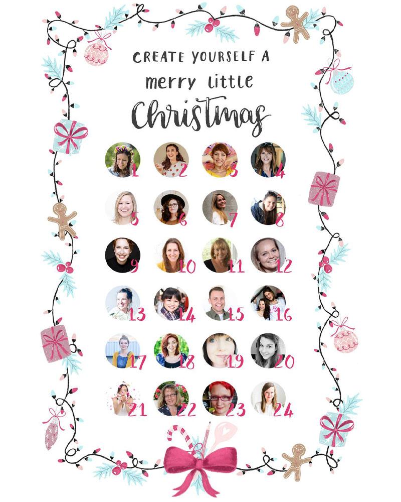 Adventskalender: Create yourself a merry littly christmas | Weihnachtsmüsli | waseigenes.com