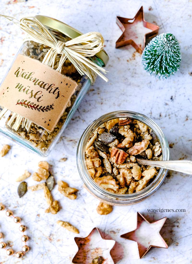 Rezept: Weihnachtsmüsli selber machen | waseigenes.com