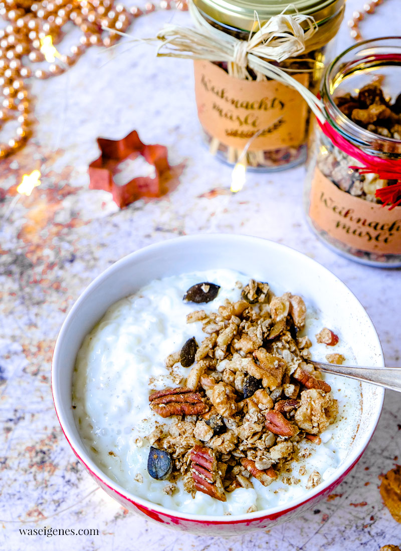 Rezept: Weihnachtsmüsli und Milchreis | waseigenes.com