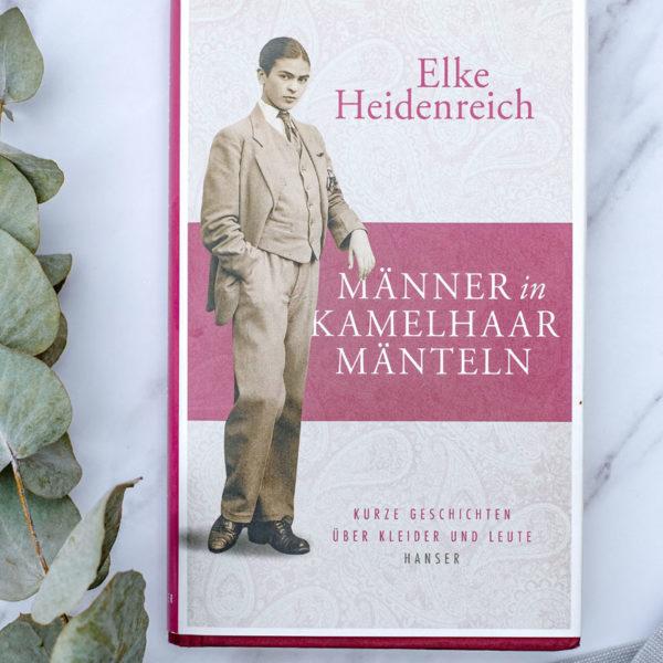 Buchtipp: Kurze Geschichten über Kleider und Leute: Männer in Kamelhaarmäntel | waseigenes.com
