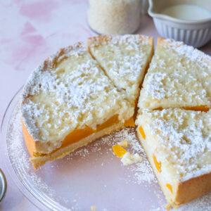 Rezept: Milchreis-Pfirsich-Kuchen   waseigenes.com