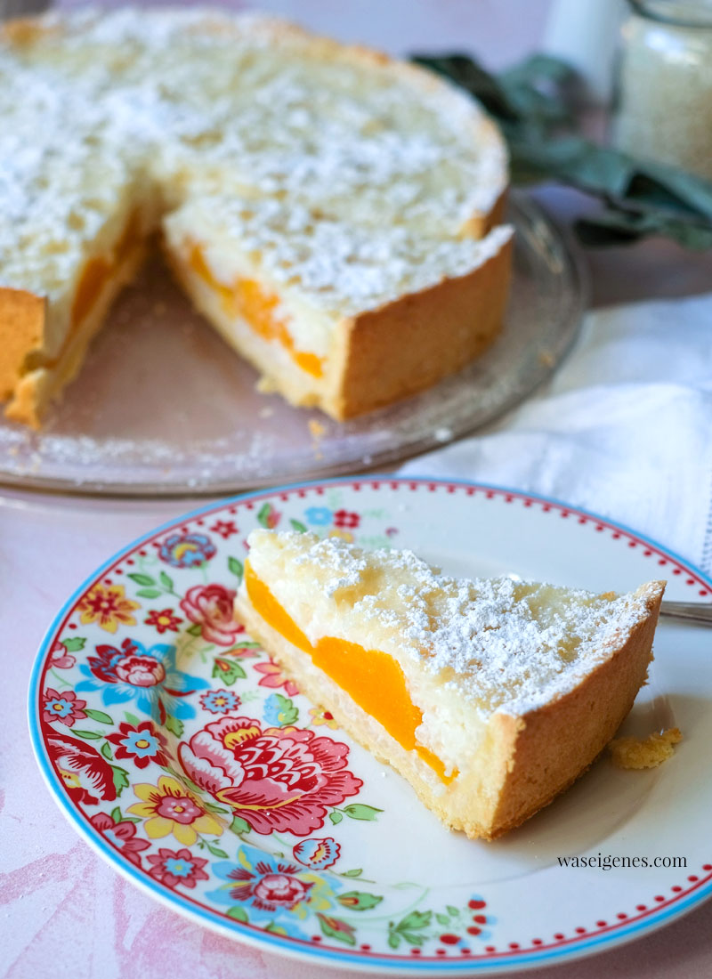 Rezept: Milchreis-Pfirsich-Kuchen | waseigenes.com