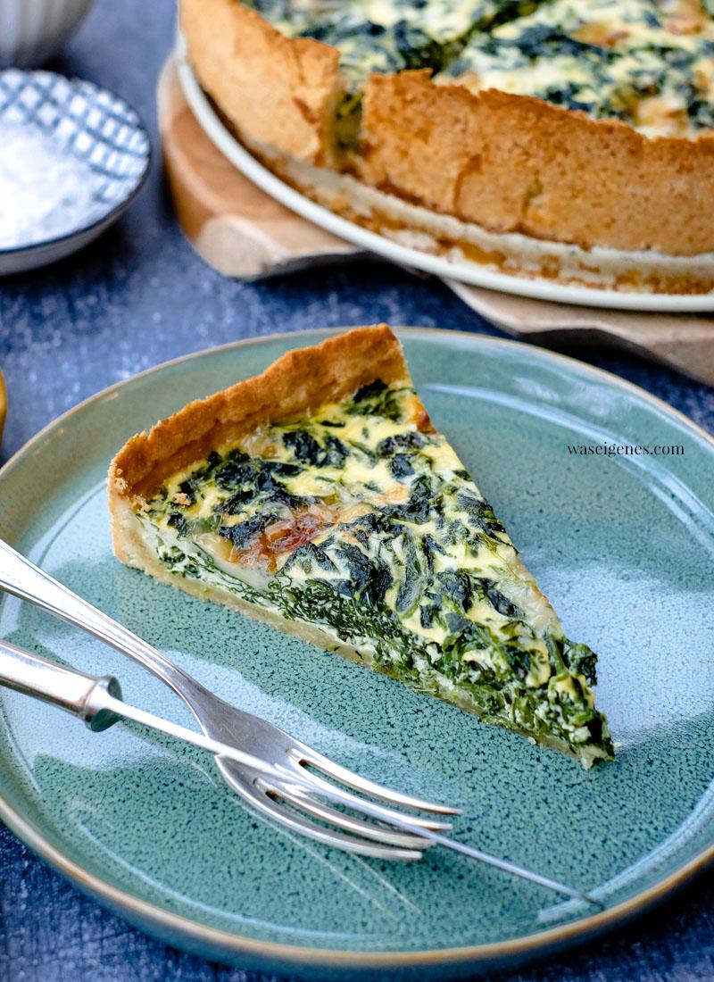 Schnelles und einfaches Rezept für die Familie: Rezept: Spinat-Gorgonzola-Quiche | waseigenes.com | waseigenes.com